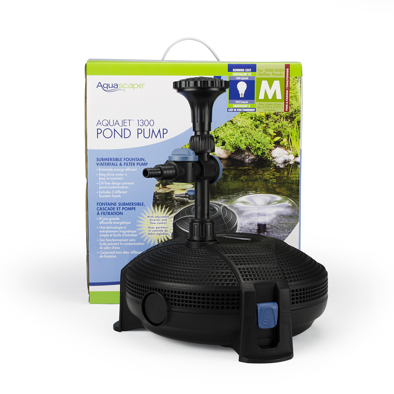 Aquajet pumps for Pond pump setup